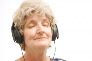Decrease the anxiety of nursing home residents with dementia by playing their favorite music
